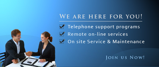Computer PC service telephone support program
